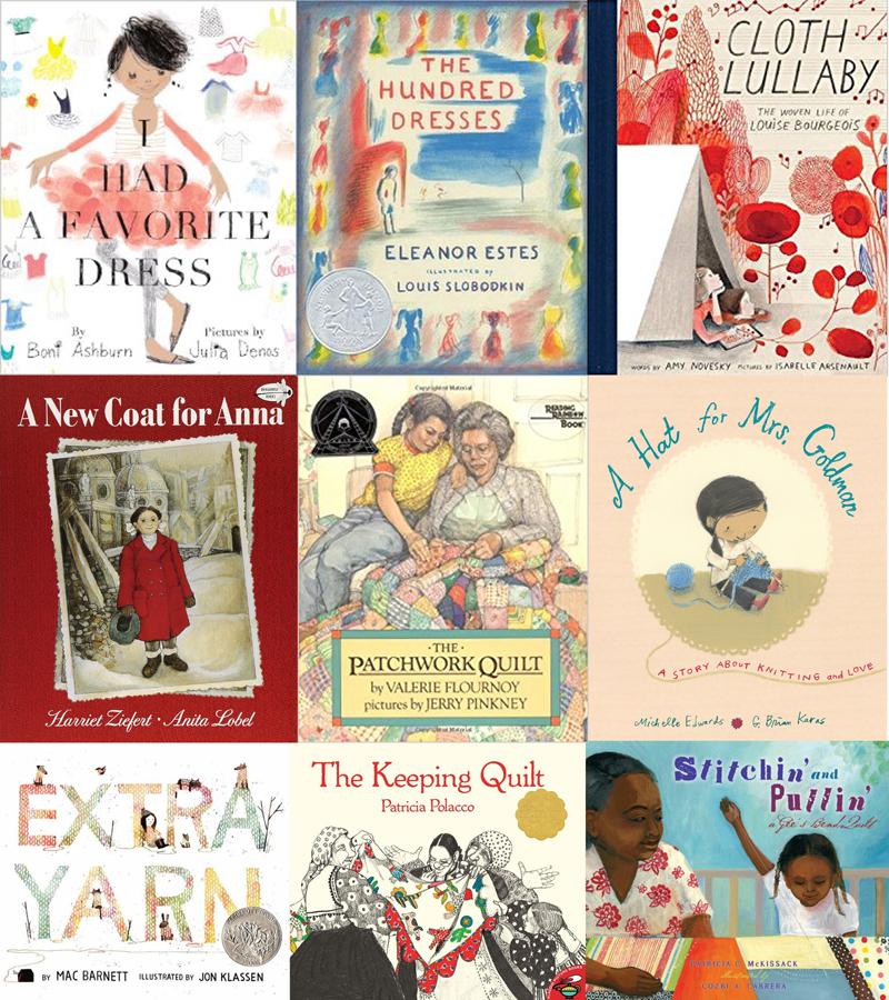 On My Shelf: Textile Inspired Storybooks