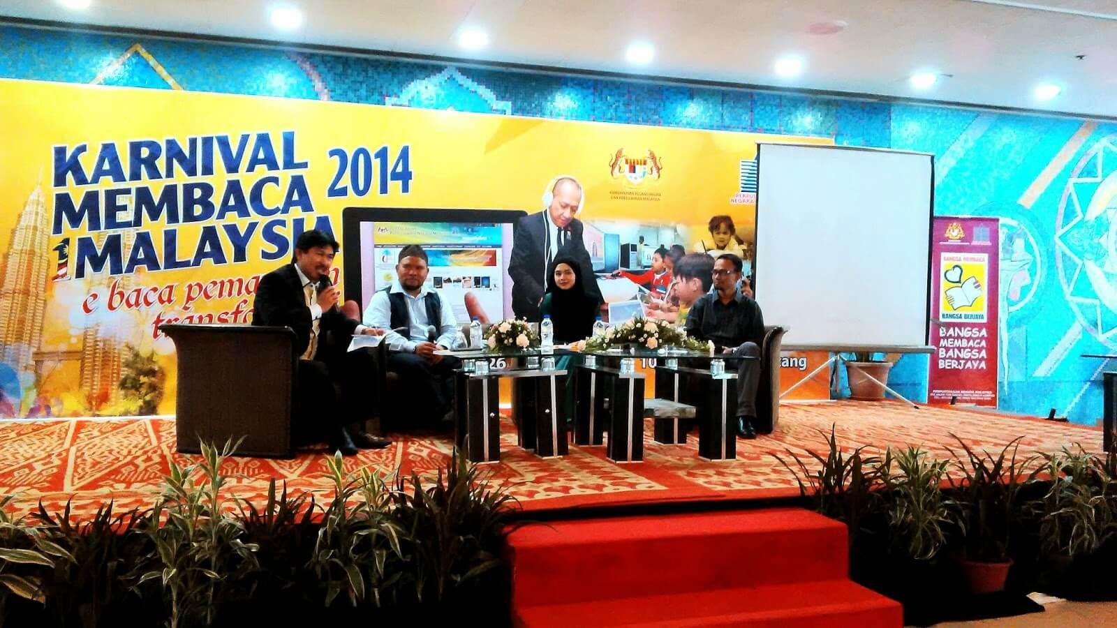 Sesi Bersama Bloggers Karnival Membaca 1 Malaysia