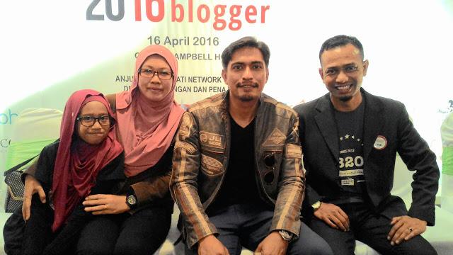 Adi Putra, Khir Khalid, SBB2016, Sepetang Bersama Blogger,