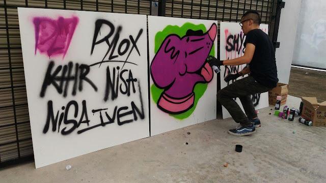 Kenji Chai, Grafiti, Pylox,