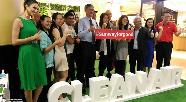 Sunway Foor Good, Clean Air - Smoke Free Environment Project, Sunway REIT,