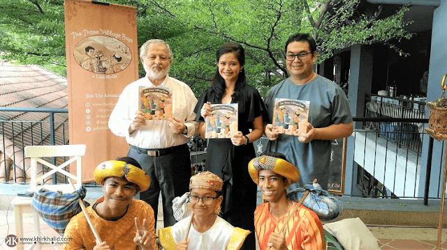 Pelancaran Buku The Three Village Boys