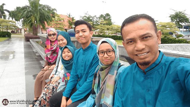 Laman Di Raja Pontian, Aidilfitri 2018, Khir Khalid, Blogger Malaysia,