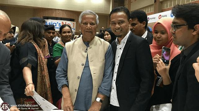 Professor Yunus, Khir Khalid, Sunway Education Group, Yunus Social Business Centre, Sunway University,