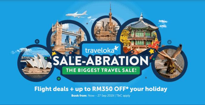 Traveloka Saleabration: Promosi 'Travel Sale' Besar-Besaran