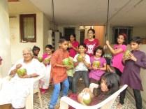 Celebrating Sankranti with fresh Tender Coconut!