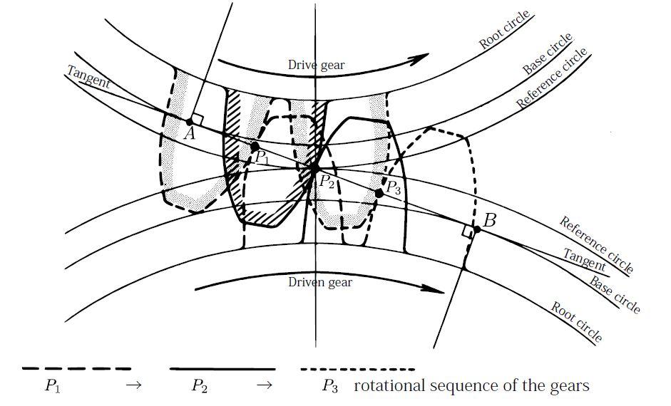 involute diagram