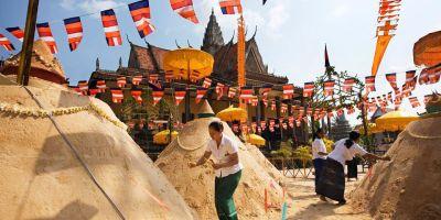 Sandstupa Khmer New Year @ Cambodia