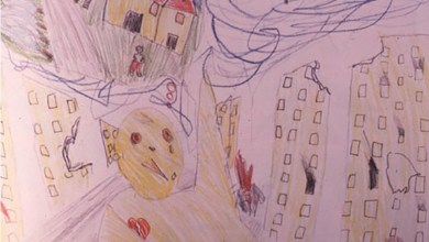 Photo of How Traumatized Children See the World, According to Their Drawings