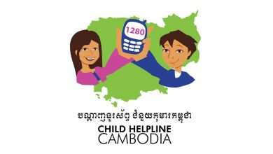 Photo of Charity helping Cambodian youth through helpline