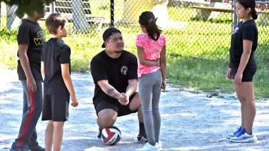 Photo of Lowell man gives back to his community via volleyball