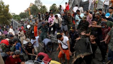 Photo of Temple collapses in Cambodia, killing 3 and injuring 13