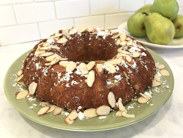 Pear Almond Cake 2