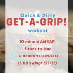 10 Minute Get-A-Grip! Workout