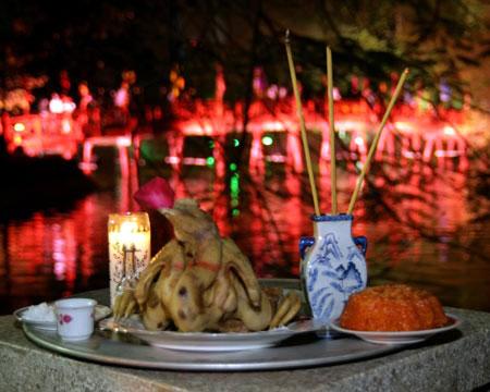 Hướng dẫn các nghi thức cúng trong đêm giao thừa
