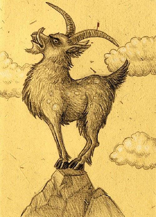 """Các phiên bản """"quái vật thần thánh"""" của loài dê trong nhiều nền văn hóa"""