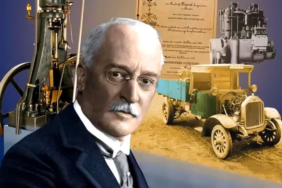 Rudolf Diesel (1858 – 1913). Ảnh: Wikimedia.