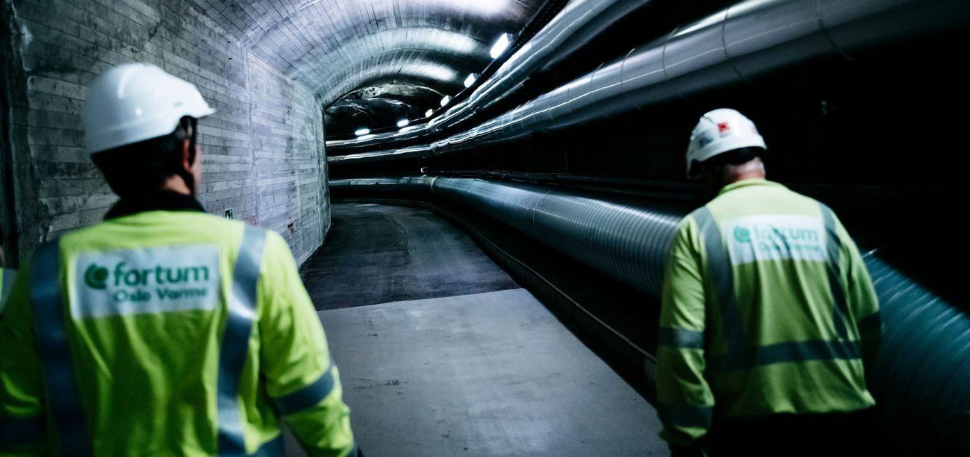 Hệ thống cống nước thải tại Oslo, NaUy. Ảnh: KlimaOslo.