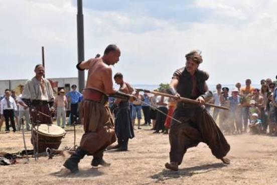 Козаки продемонструють свою майстерність у бойових мистецтвах на Кам'янській Січі