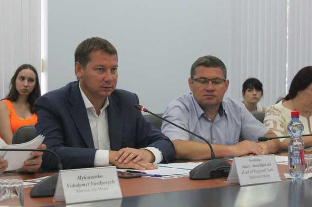 Андрій Гордєєв зустрівся з Представництвом Європейського Союзу в Україні