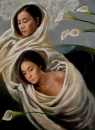 Calla Lily - Oil on Canvas 30 x 40