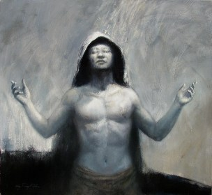 I'm Prophet - Oil on Canvas 28 x 30