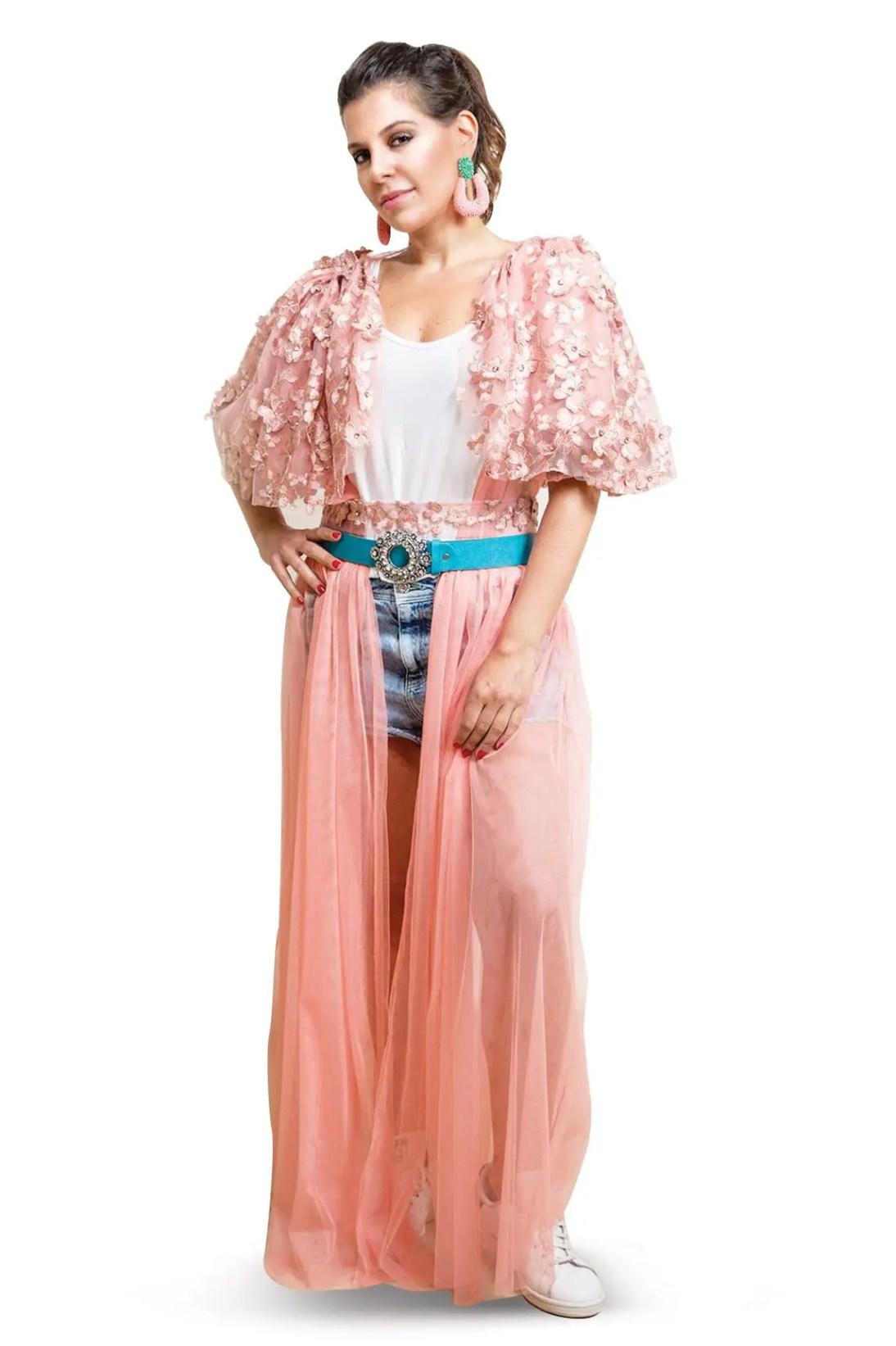 8629c0c00ba83 عباية الأحلام الوردية (The Rosy Dream Abaya) – متجر خود للأزياء ...