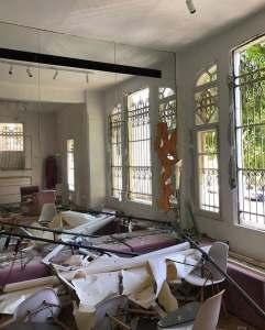 انفجار بيروت - خود للأزياء 1