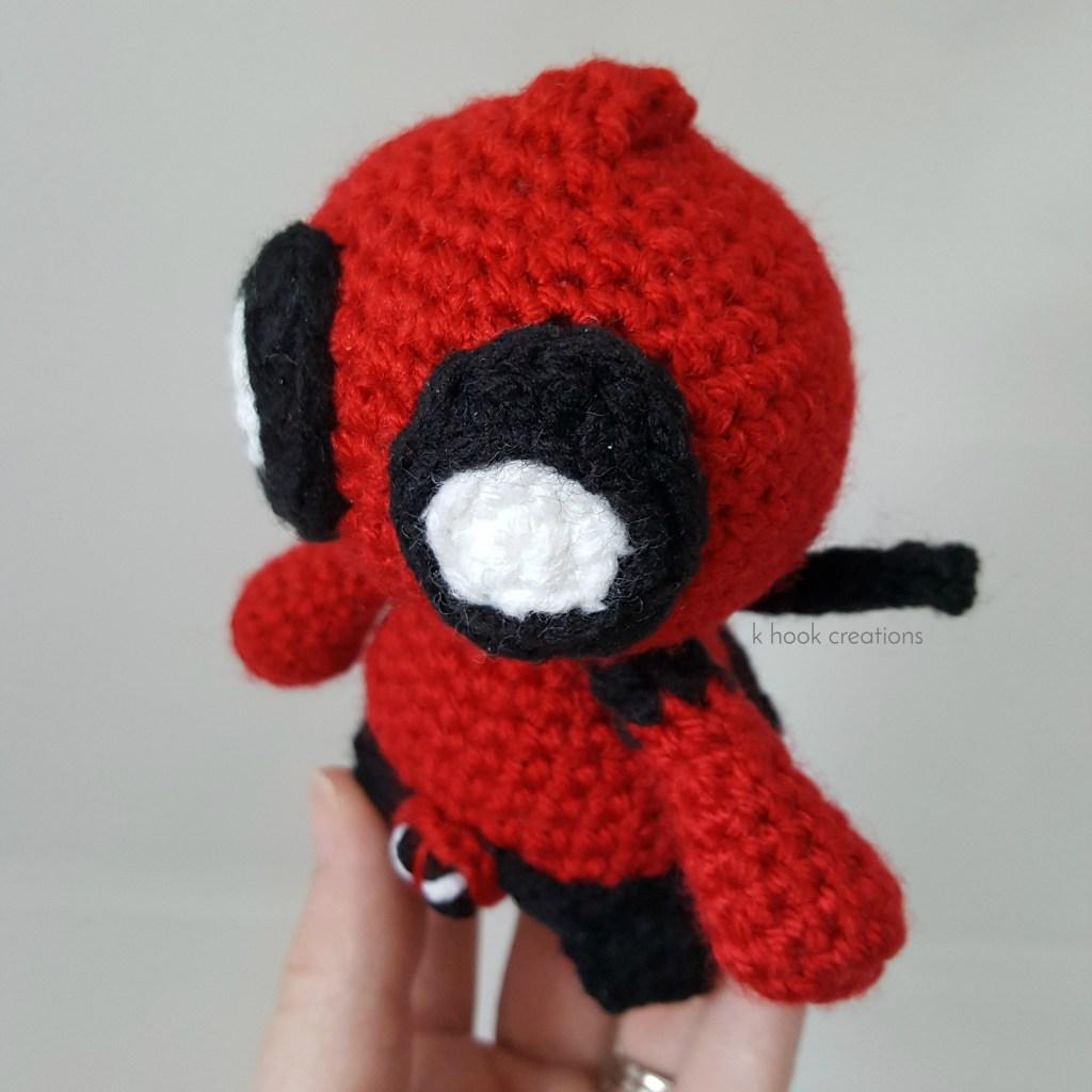 Deadpool Crochet Pattern - Instant Download - Amigurumi Plush Doll ... | 1024x1024