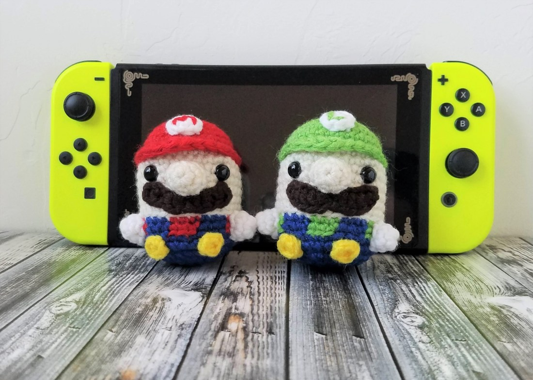 CROCHET PATTERN - Mario & Luigi - Amigurumi - Pattern - Super ... | 783x1100