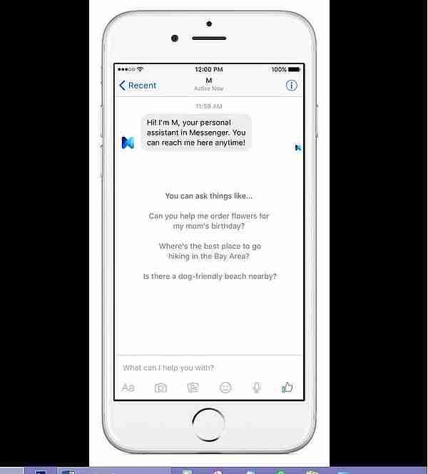Facebook Messenger M 1