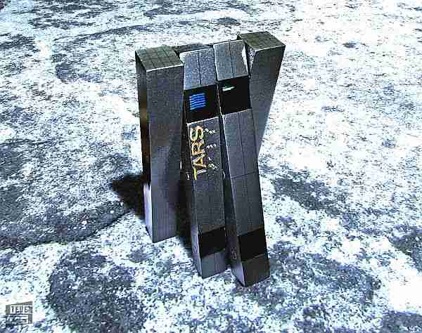 TARS: Interstellar filmindeki komik bacaklı yapay zeka ve kişisel asistan robotu.
