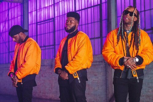 """Watch Khalid, 6LACK, and Ty Dolla $ign in the """"OTW""""  official video"""