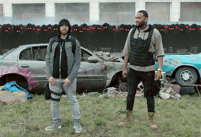 "VIDEO: Eminem Feat. Joyner Lucas ""Lucky You"""