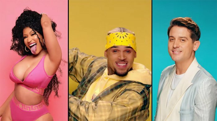 WATCH: CHRIS BROWN FEAT. NICKI MINAJ & G-EAZY – 'WOBBLE UP'