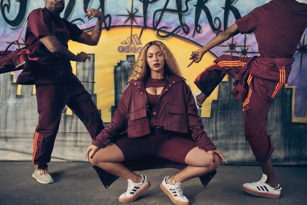 Beyoncé promotes Adidas x IVY PARK with teasers