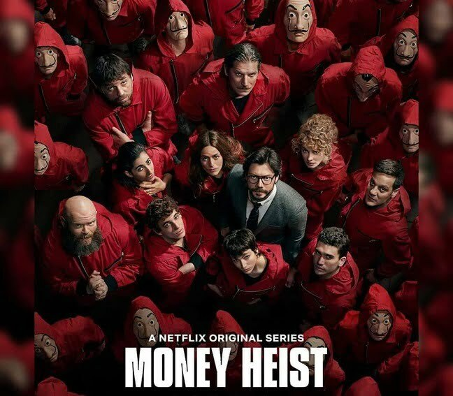 REVIEW : Money Heist 1-4