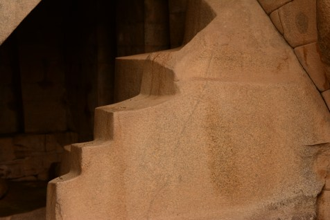 in one pf the temples and unexplained for the shape