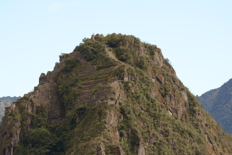 The top of Waynupicchu