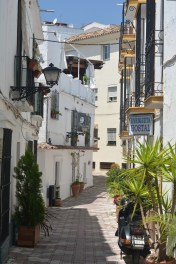 Old world street