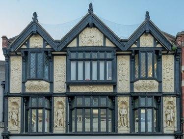 Ornate shop front