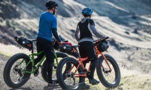 KHS Fat Tire bikes at the summit