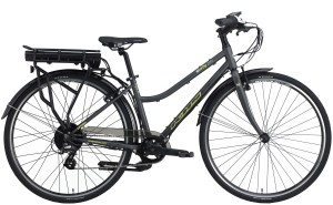 2020 KHS Envoy 200 e-bike in Dark Gray