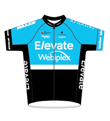KHS Elevate Webiplex team jersey.