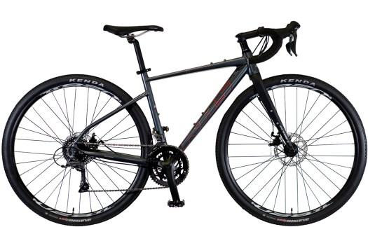 2021 KHS Bicycles Grit 110 Dark Gray