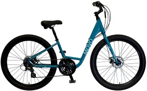 2021 KHS Bicycles Movo 1.0 Step-Thru in Light Teal