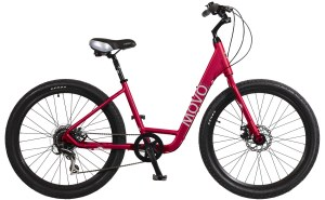 2021 KHS Bicycles Movo 1.0 Step-Thru in Metallic Red
