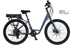 2021 KHS Bicycles Movo 1.0E Ladies in County Blue