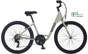 2021 KHS Bicycles Movo Zer.0 Step-Thru in Mute Gray