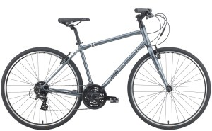 2021 KHS Bicycles Urban Xcape in Dark Silver